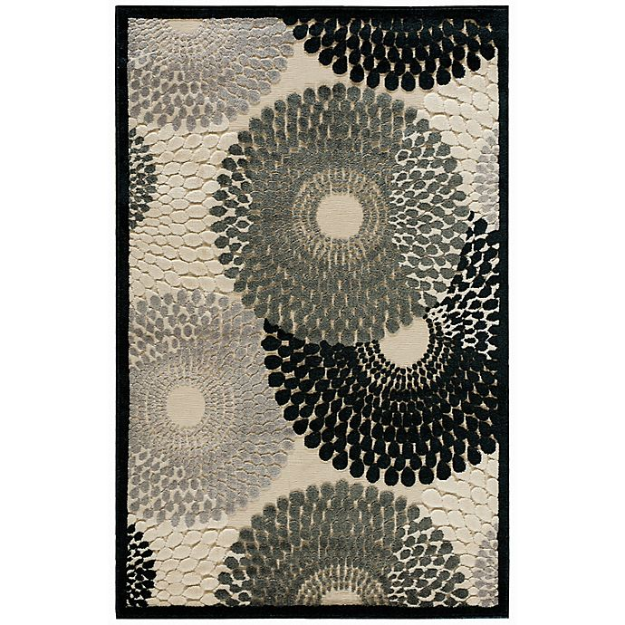 Alternate image 1 for Nourison Gil Sunburst 2-Foot 3-Inch x 3-Foot 9-Inch Accent Rug in Parchment