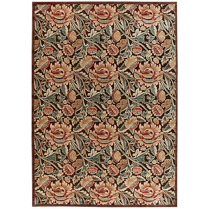 Alternate image 1 for Nourison Gil 7-Foot 9-Inch x 10-Foot 10-Inch Area Rug  in Brown