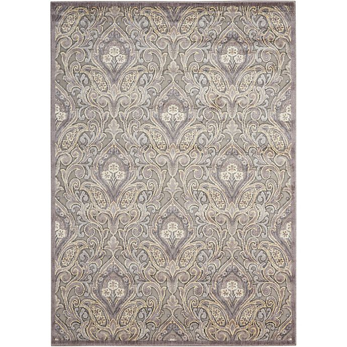 Alternate image 1 for Nourison Gil 7-Foot 9-Inch x 10-Foot 10-Inch Area Rug in Grey