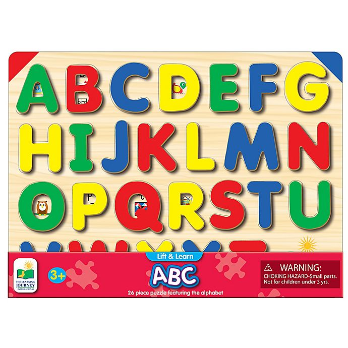 Alternate image 1 for The Learning Journey Lift & Learn ABC Puzzle