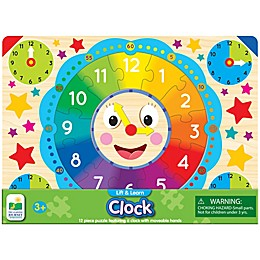 The Learning Journey Lift & Learn Clock Puzzle