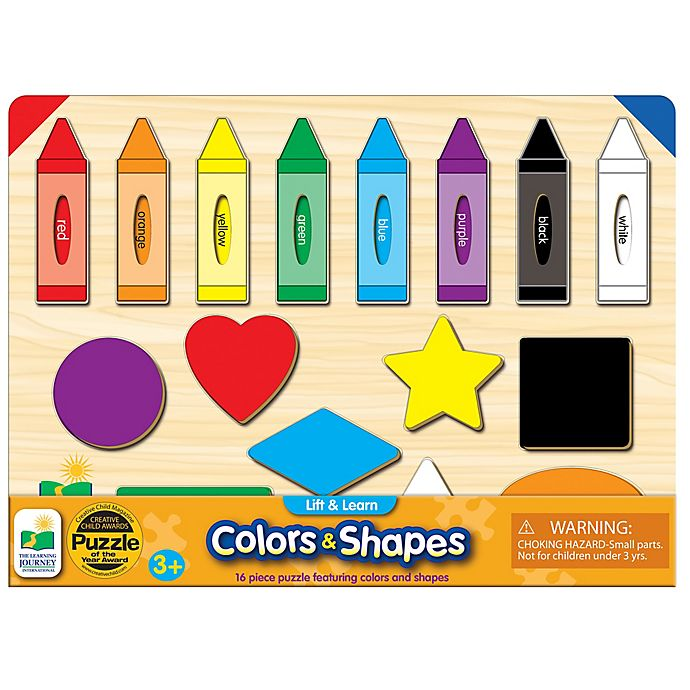 Alternate image 1 for The Learning Journey Lift & Learn Colors & Shapes Puzzle