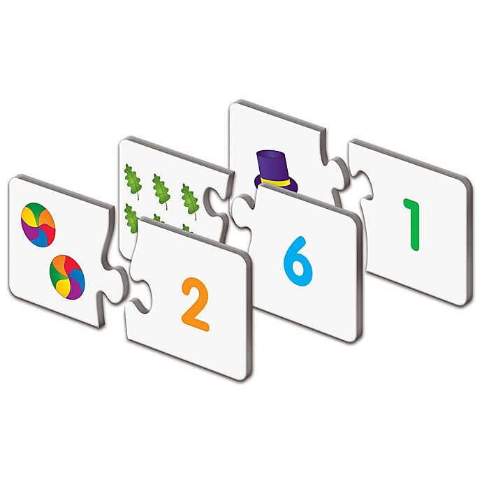 Alternate image 1 for The Learning Journey Match It!® Counting Puzzle Cards
