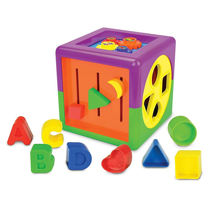Alternate image 1 for The Learning Journey My First Activity Cube