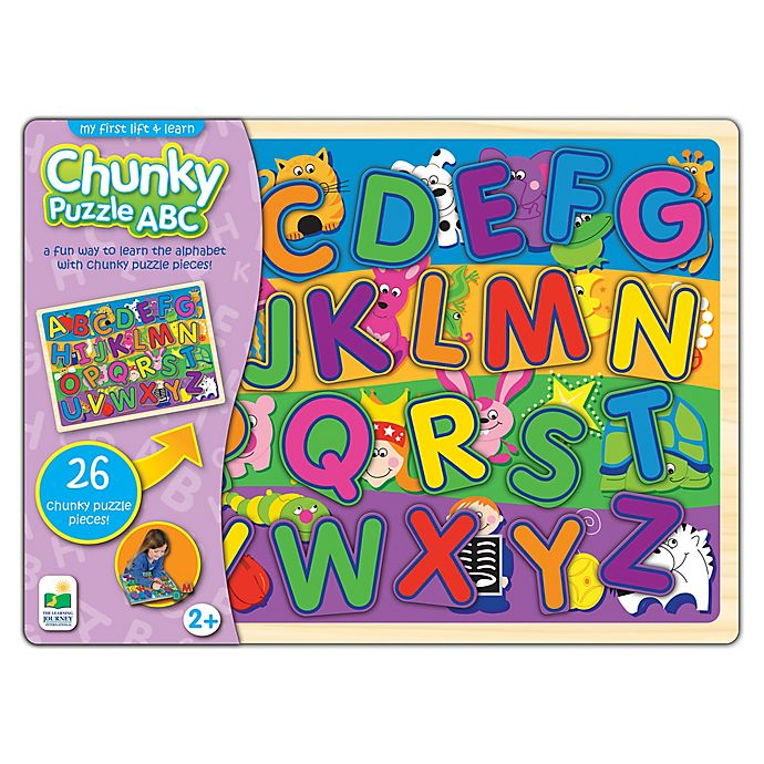 Alternate image 1 for The Learning Journey My First Lift & Learn ABC Chunky Puzzle