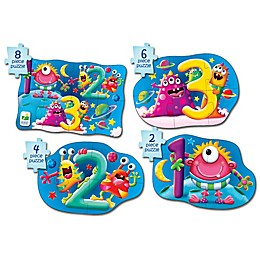 The Learning Journey My First Puzzle Set 4-In-A-Box 123 Puzzles