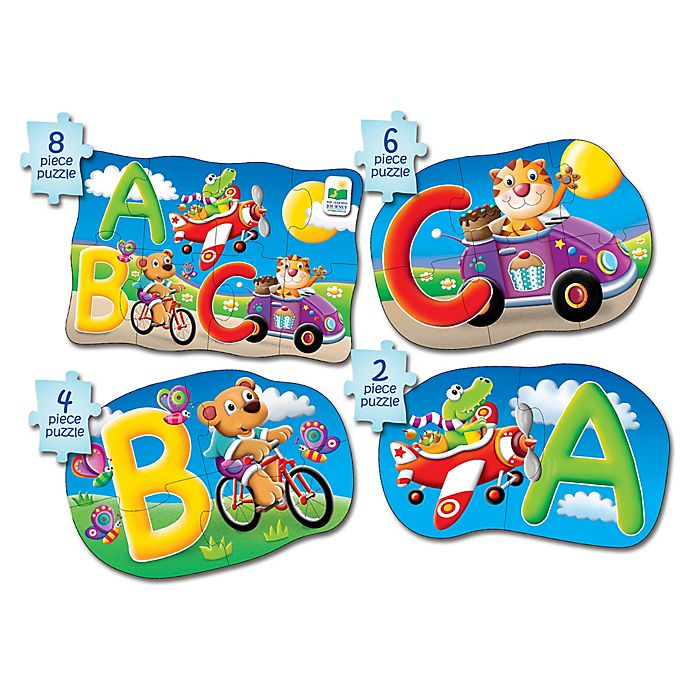 Alternate image 1 for The Learning Journey My First Puzzle Set 4-In-A-Box ABC Puzzles