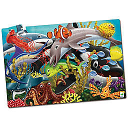 The Learning Journey Puzzle Doubles! Glow in the Dark Sea Life Puzzle
