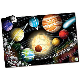 The Learning Journey Puzzle Doubles! Glow in the Dark Space Puzzle