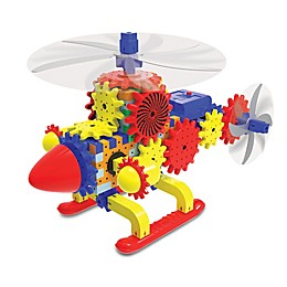 The Learning Journey Techno Gears Quirky Copter 80-Piece Construction Set