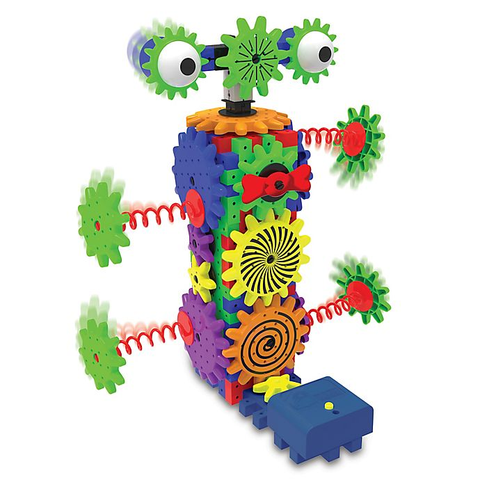 Alternate image 1 for The Learning Journey Techno Gears Wacky Robot 80-Piece Construction Set
