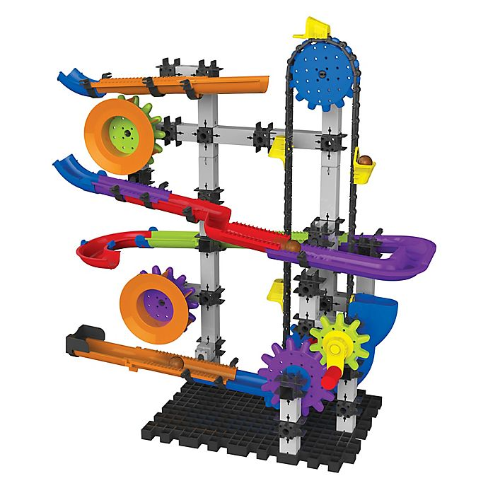 The Learning Journey Techno Gears Marble Mania Crankster Set Bed