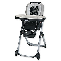 Graco® DuoDiner™ Milan 3-in-1 Convertible High Chair in Black/White