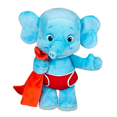 """Word Party"" Snuggle And Play Bailey Push Toy in Blue"