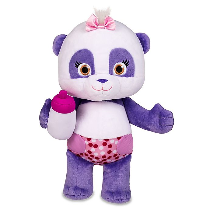 Alternate image 1 for Word Party Snuggle and Play Lulu Plush Toy