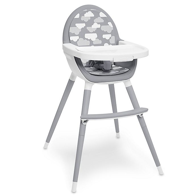 Alternate image 1 for SKIP*HOP® Tuo Convertible High Chair in Grey/White