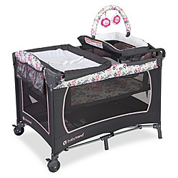 Baby Trend® Lil Snooze Floral Deluxe Nursery Center Playard in Pink