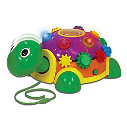 The Learning Journey Funtime Activity Turtle Pull-Along Toy