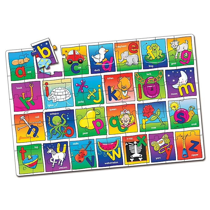 Alternate image 1 for The Learning Journey Alphabet Jumbo Floor Puzzle