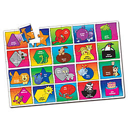 The Learning Journey Colors and Shapes Jumbo Floor Puzzles