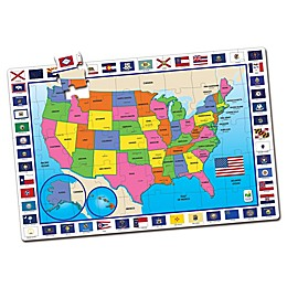 The Learning Journey USA Map Jumbo Floor Puzzle