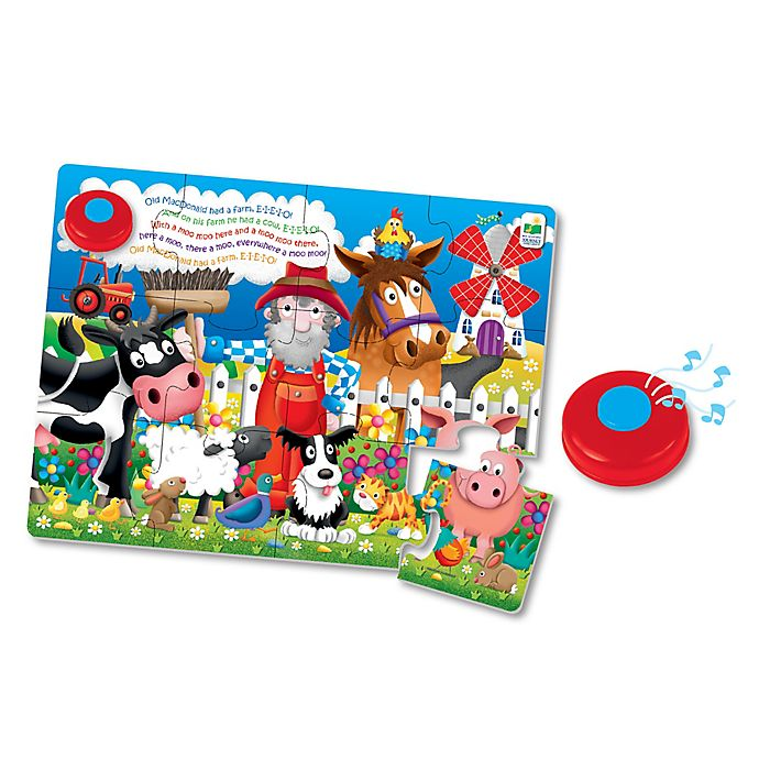 Alternate image 1 for The Learning Journey Old MacDonald's Farm My First Sing-Along Puzzle