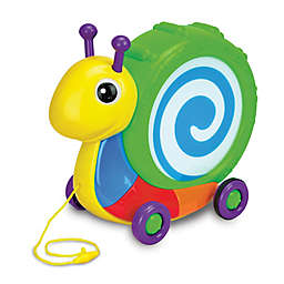 The Learning Journey Pull Along Snail Drum