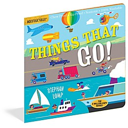 """Indestructibles: """"Things That Go!"""" Book by Amy Pixton and Stephan Lomp"""
