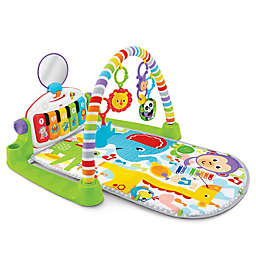 Fisher-Price® Deluxe Kick and Play Piano Gym in Green