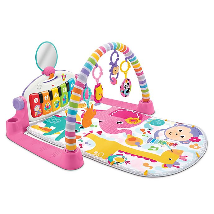 Fisher Price 174 Deluxe Kick And Play Piano Gym In Pink Bed