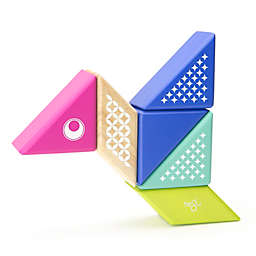 Tegu Travel Pals 6-Piece Hummingbird Wooden Block Set