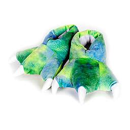 Wishpets Dinosaur Slippers in Green