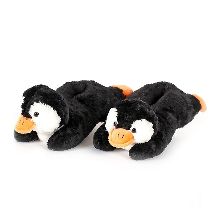 Alternate image 1 for Wishpets Penguin Slippers