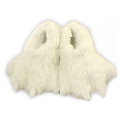 Wishpets Size Medium 12-Inch Furry Polar  Slippers