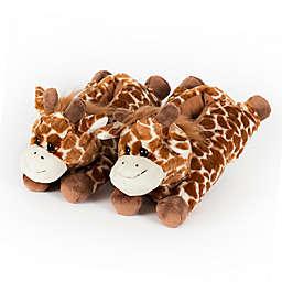 Wishpets Size Medium 12-Inch Giraffe Slippers
