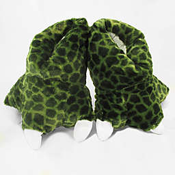 Wishpets Size Medium 12-Inch Green Gator Slippers