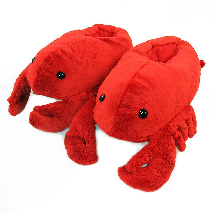 Alternate image 1 for Wishpets Size Medium 12-Inch Lobster Slippers