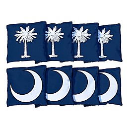 Victory Tailgate South Carolina Flag Regulation Corn-Filled Cornhole Bags (Set of 8)