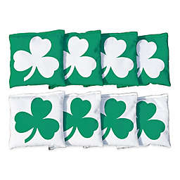 Victory Tailgate Shamrock Regulation Corn-Filled Cornhole Bags (Set of 8)