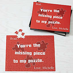 Missing Piece 252-Piece Jigsaw Puzzle