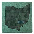 Thirstystone® Dolomite Ohio State Words Single Coaster