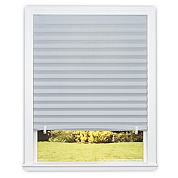 Redi Shade Room Darkening Cordless Paper Window Shade in Dark Grey