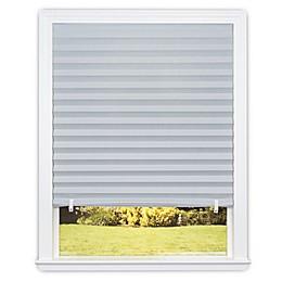 Redi Shade Room Darkening Cordless Paper Window Shade in Dark Grey