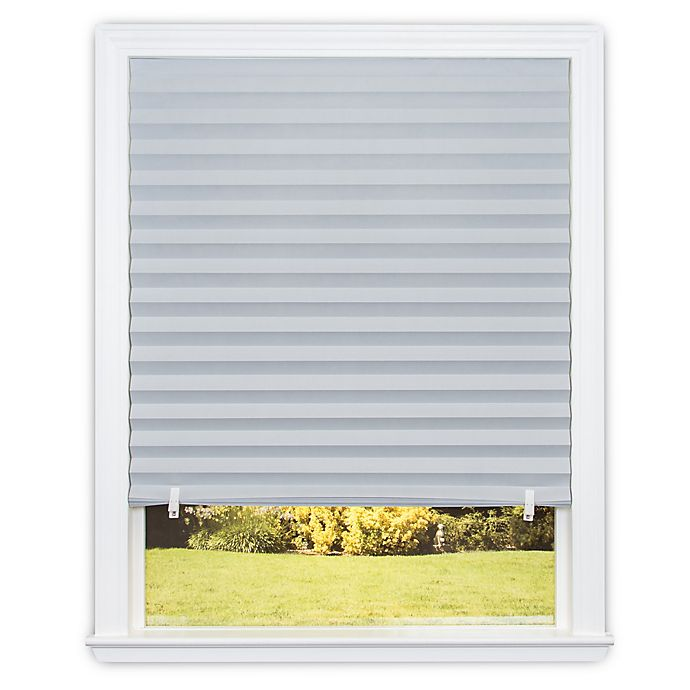 Redi Shade Room Darkening Cordless Paper Window Shade Bed Bath