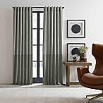 ED Ellen DeGeneres Shadow 108-Inch Rod Pocket/Back Tab Window Curtain Panel in Grey