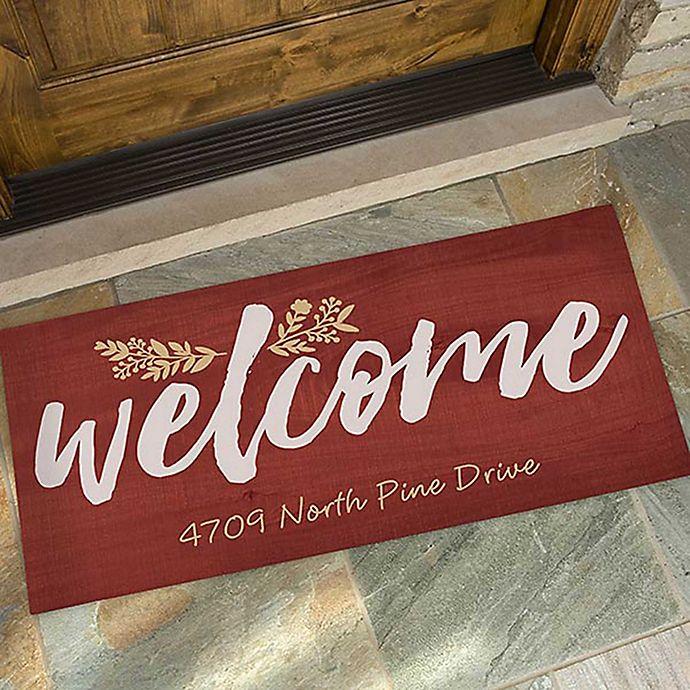 Alternate image 1 for Cozy Home Door Mat