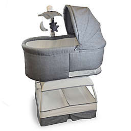 TruBliss™ Sweetli® Deluxe Bassinet in Stonewash