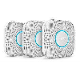 Google Nest Protect Battery Smoke and Carbon Monoxide Alarms (Set of 3)