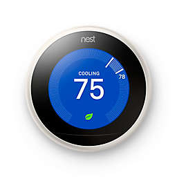 Google Nest Learning Third Generation Thermostat in White