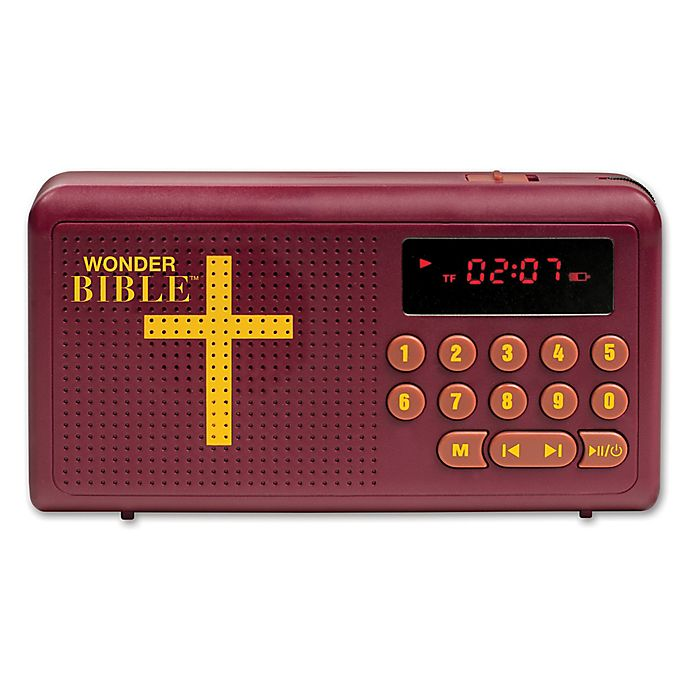 Alternate image 1 for Wonder Bible™ Audio Player